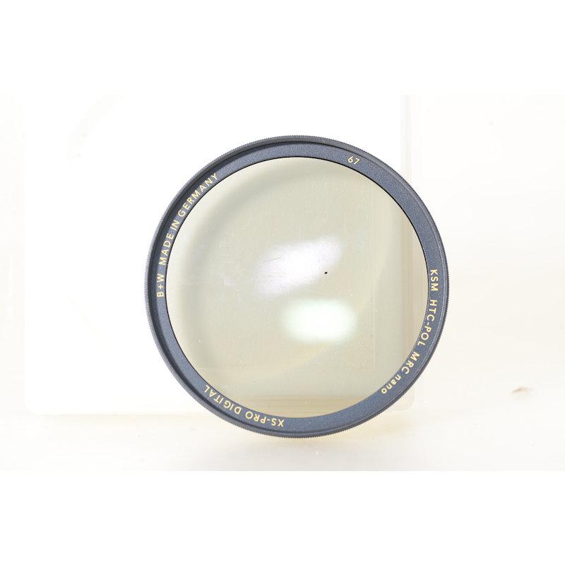 B+W Polfilter KSM Zirkular MRC XS-Pro Digital E-67