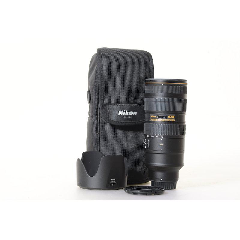 Nikon AF-S 2,8/70-200 G IF ED VR II