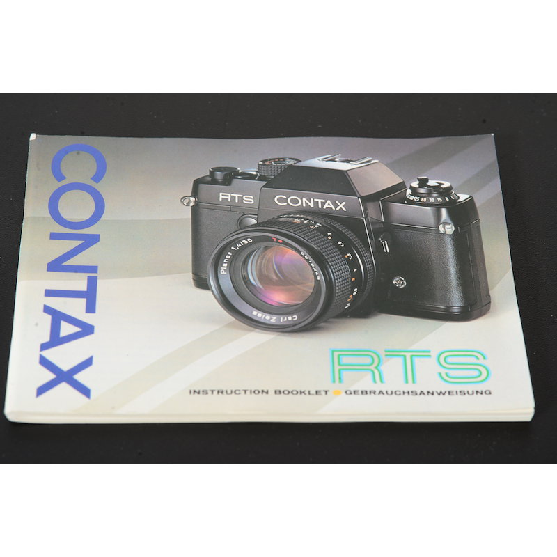 Contax Anleitung RTS