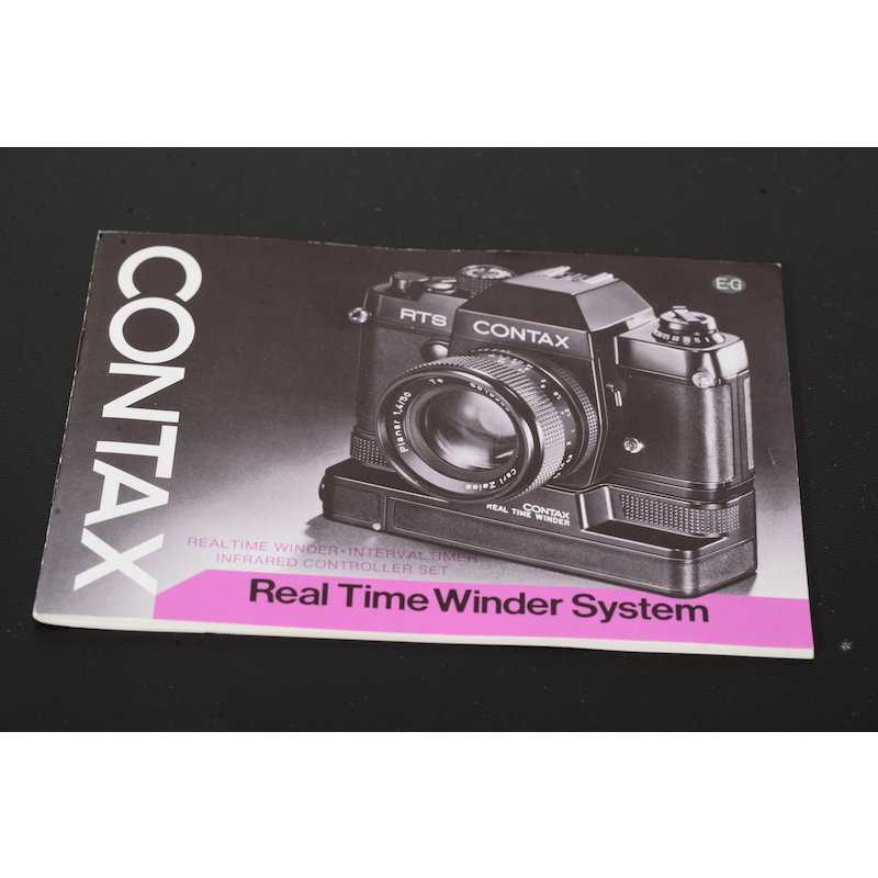 Contax Anleitung Real Time Winder System
