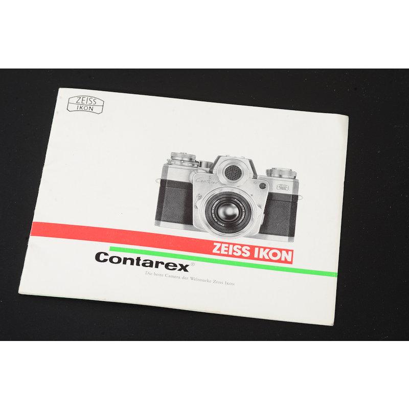 Zeiss-Ikon Prospekt Contarex 1961