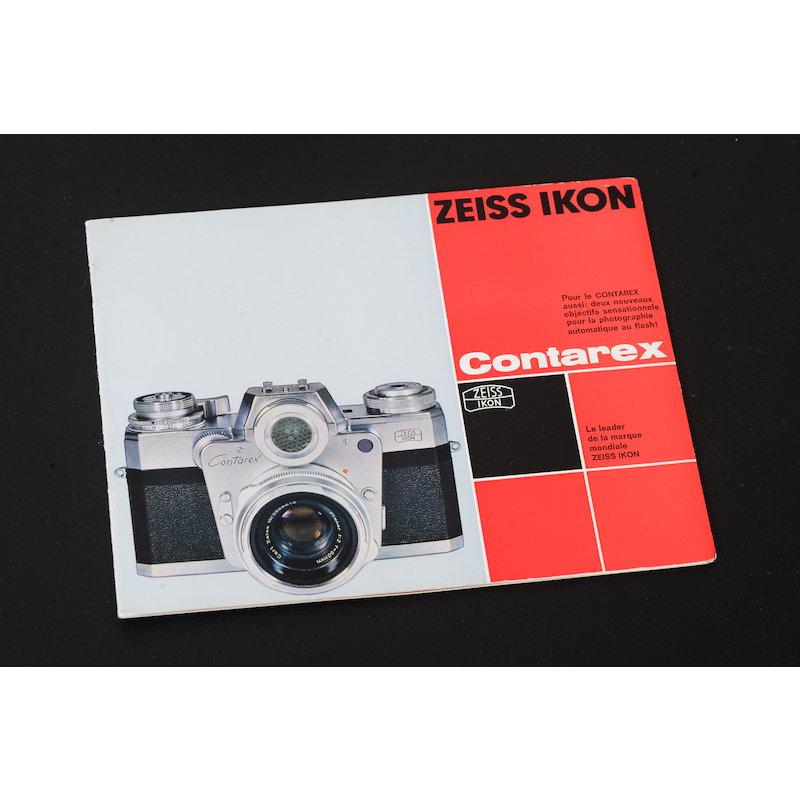 Zeiss-Ikon Prospekt Contarex 1965