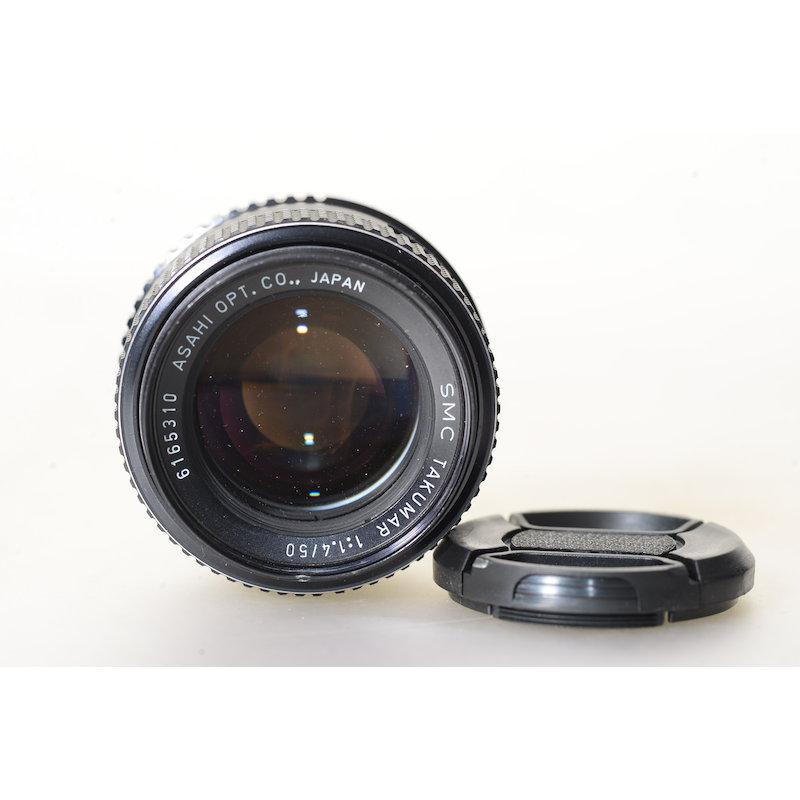 Pentax SMC 1,4/50 M42
