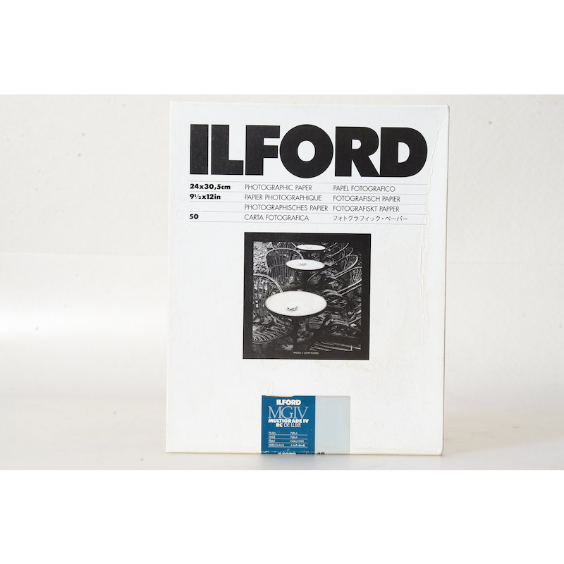 Ilford Multigrade IV RC DeLuxe Perle 24x30/50