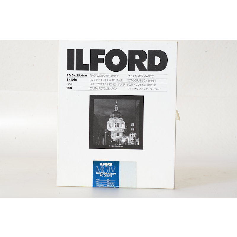 Ilford Multigrade IV RC DeLuxe Perle 20x25/100