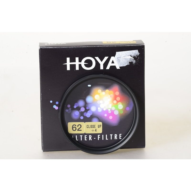 Hoya Nahlinse +4 E-62