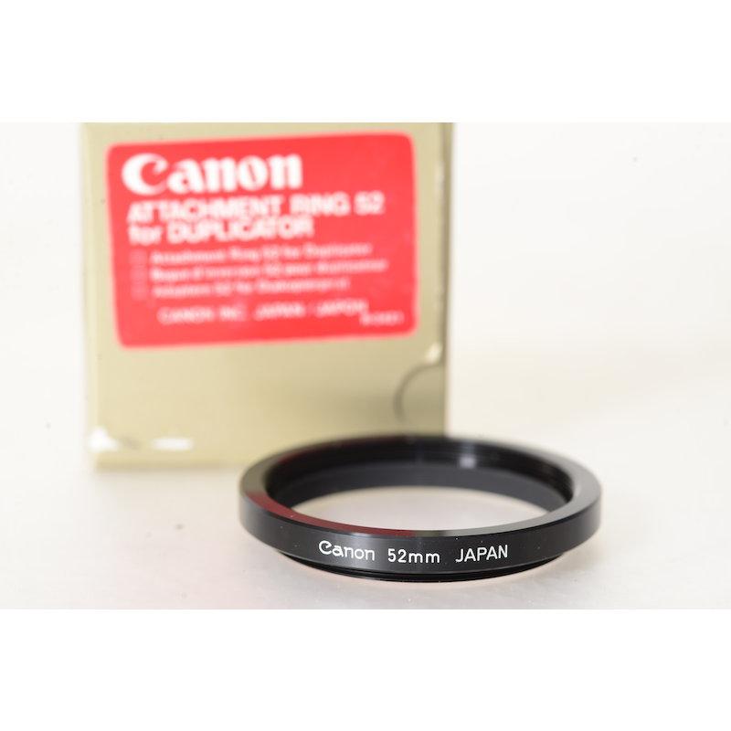 Canon Anschlußring E-52 f. Diakopiergerät