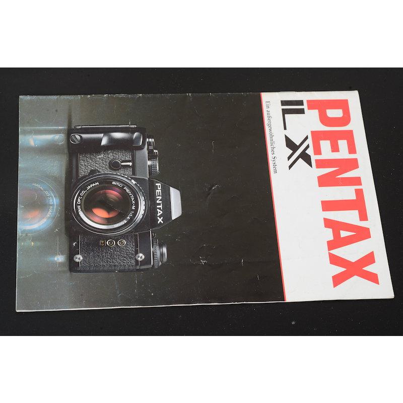 Pentax Prospekt LX Ein außergewöhnliches System