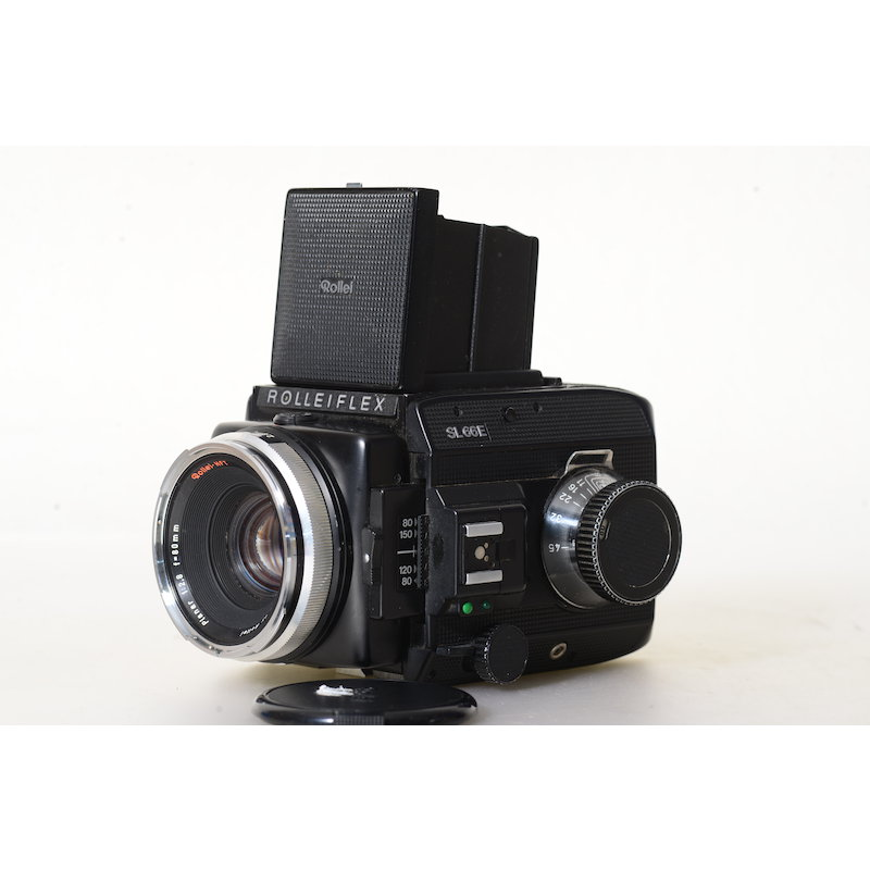Rollei SL66 E+Magazin+Planar HFT 2,8/80
