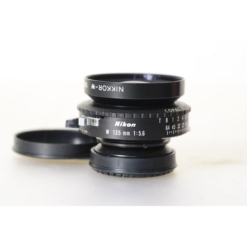 Nikon Nikkor-W 5,6/135 Copal 0
