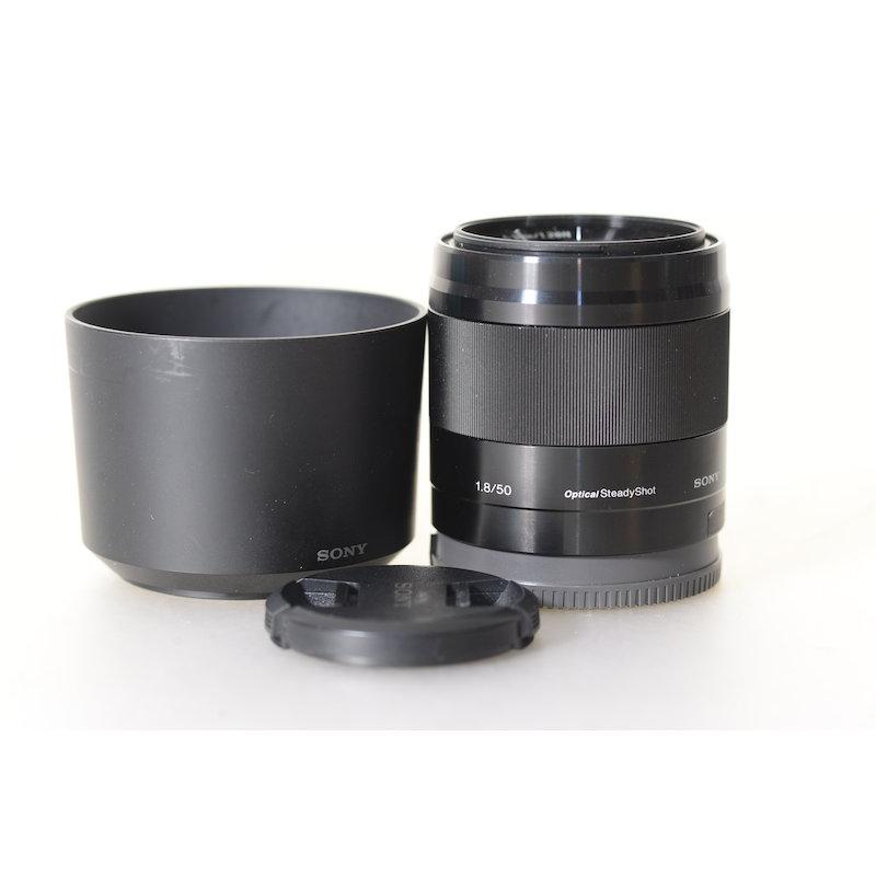 Sony E 1,8/50 OSS Black E-Mount