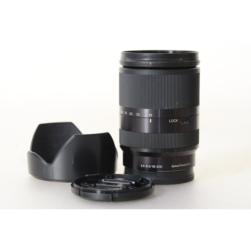 Sony DT 3,5-6,3/18-200 OSS E-Mount Black