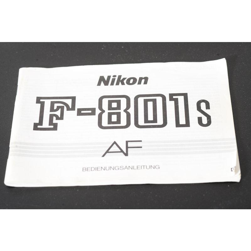 Nikon Anleitung F-801s