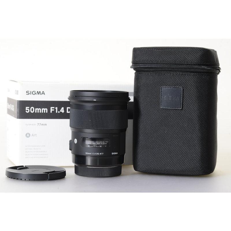 Sigma EX 1,4/50 DG HSM ART C/EF