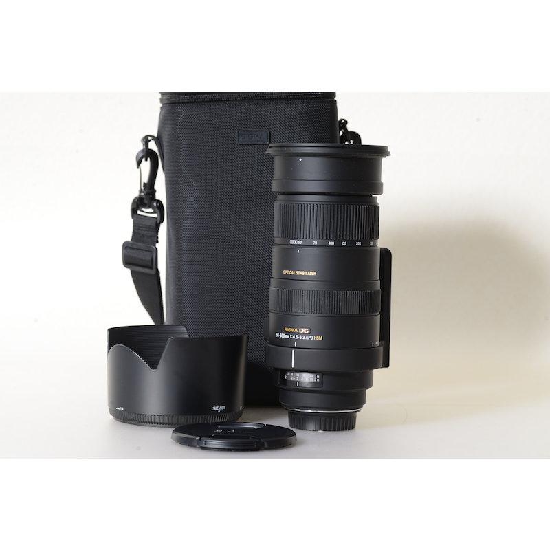 Sigma EX 4,0-6,3/50-500 APO DG HSM C/EF