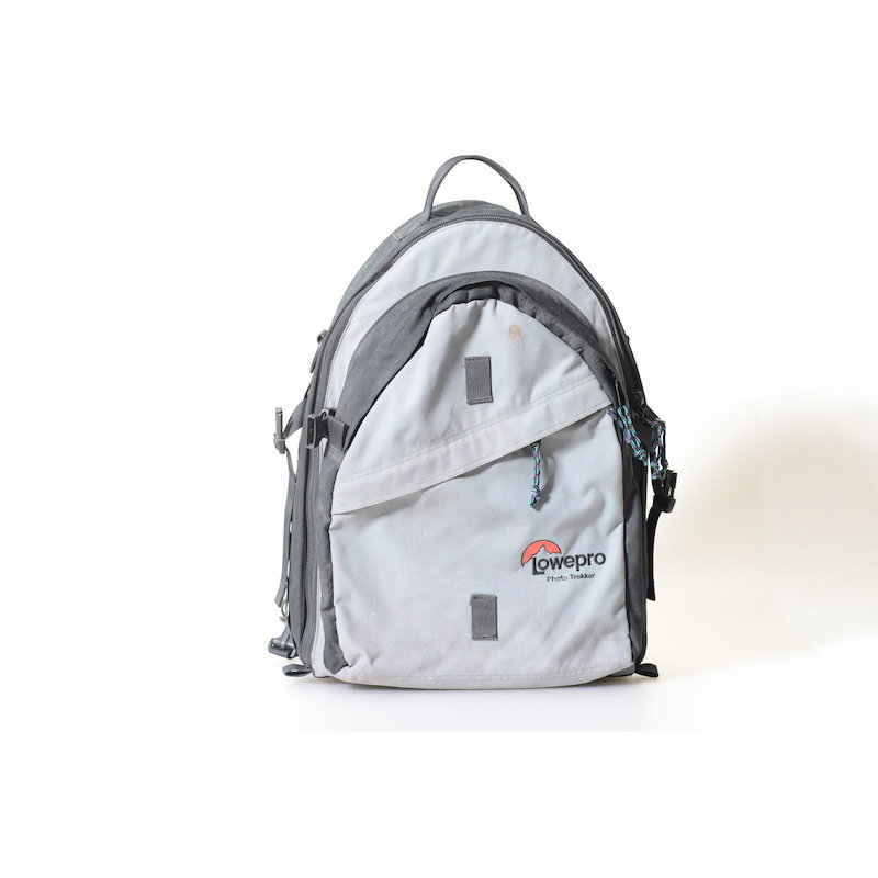 Lowe Fotorucksack Pro Trekker Grau