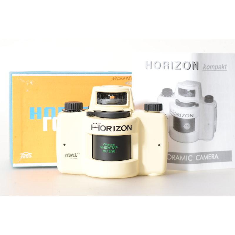 KMZ Panoramakamera Horizon Kompakt Weiß