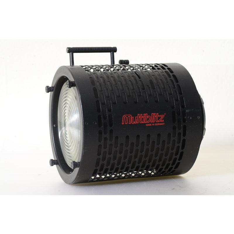 Multiblitz Fresnel Spotvorsatz RASTU