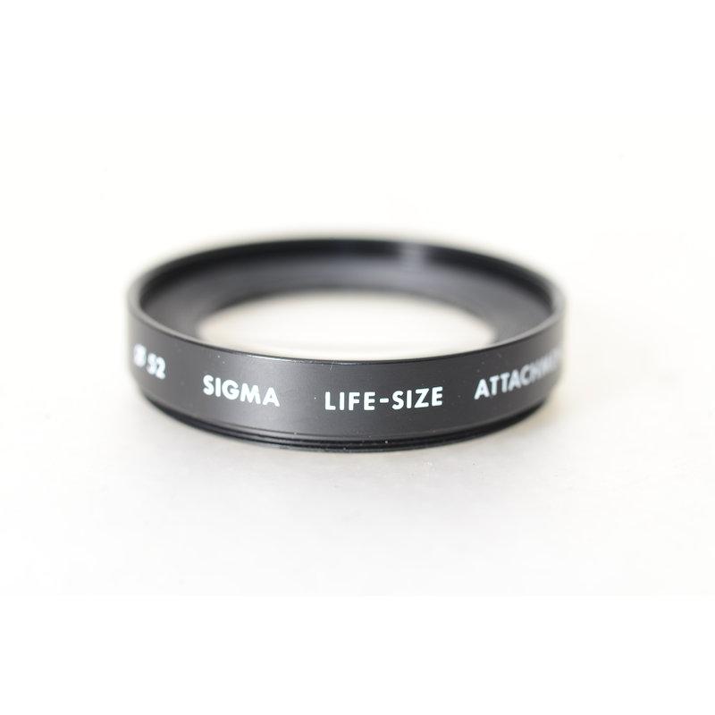 Sigma Makrolinse Achromat Life Size 1:1 E-52