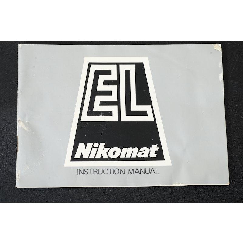 Nikon Anleitung Nikomat EL (Englisch)
