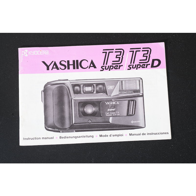 Yashica Anleitung T3/T3D