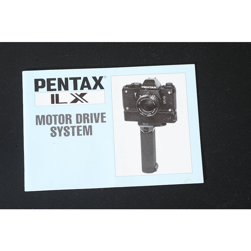 Pentax Anleitung Motor Drive System LX (Englisch)