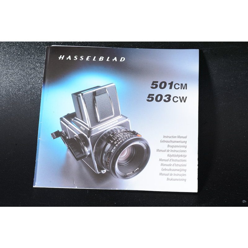 Hasselblad Anleitung 501CM/503CW