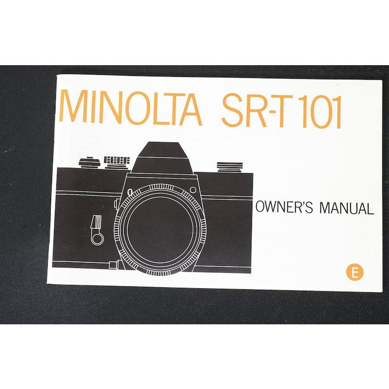 Minolta Anleitung SR-T 101 (Englisch)