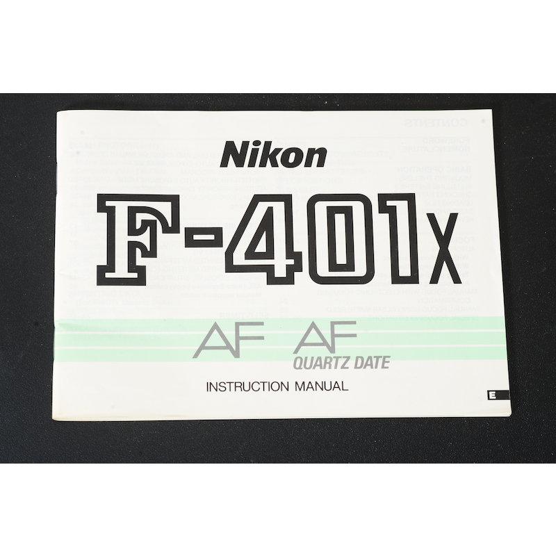 Nikon Anleitung F-401x (Englisch)