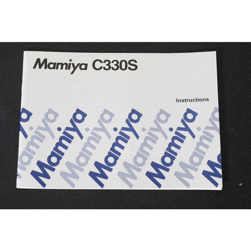 Mamiya Anleitung C330S (Englisch)