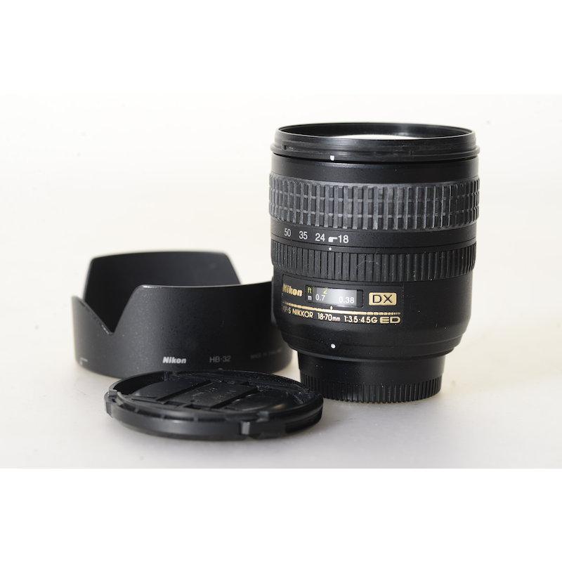 Nikon AF-S 3,5-4,5/18-70 G IF ED DX