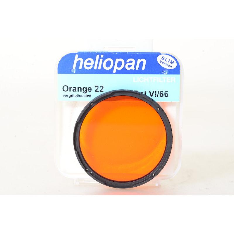 Heliopan Orangefilter (22) VI/66