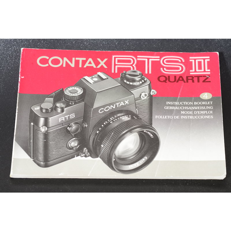Contax Anleitung RTS II