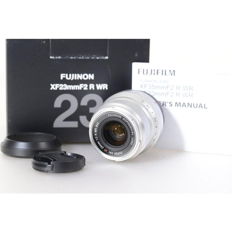 Fujifilm Fujinon Super EBC XF 2,0/23 R WR Silver
