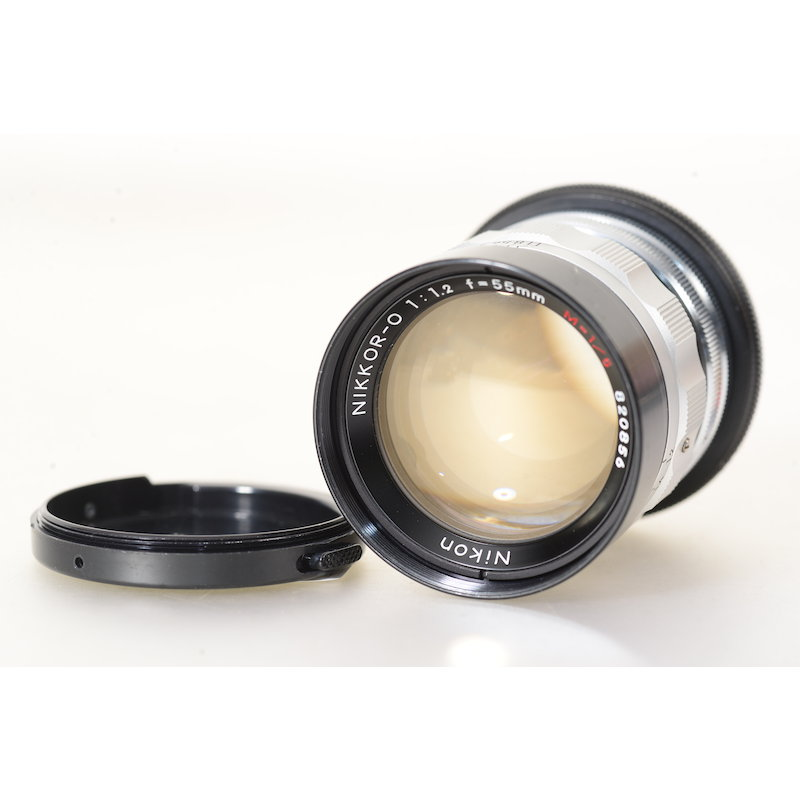 Nikon Nikkor-O 1,2/55 M 1:5 M39 (Extrem Selten)