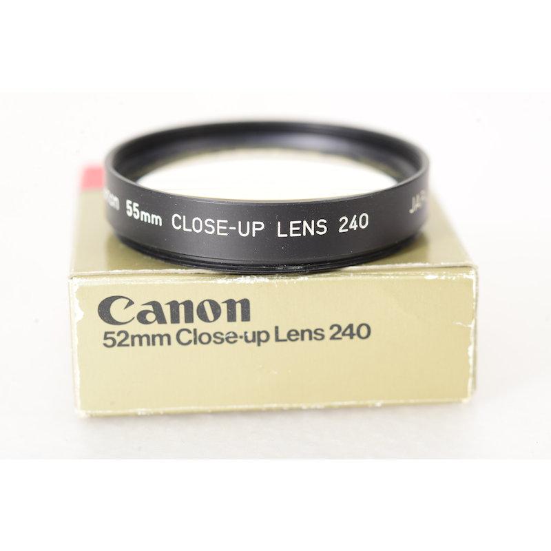 Canon Nahlinse 240 E-55