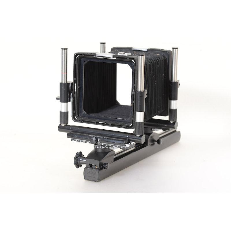 Linhof Kardan Super Color 9x12/4x5 ohne Mattscheibenrahmen / Einstellscheibe (Balgen undicht)