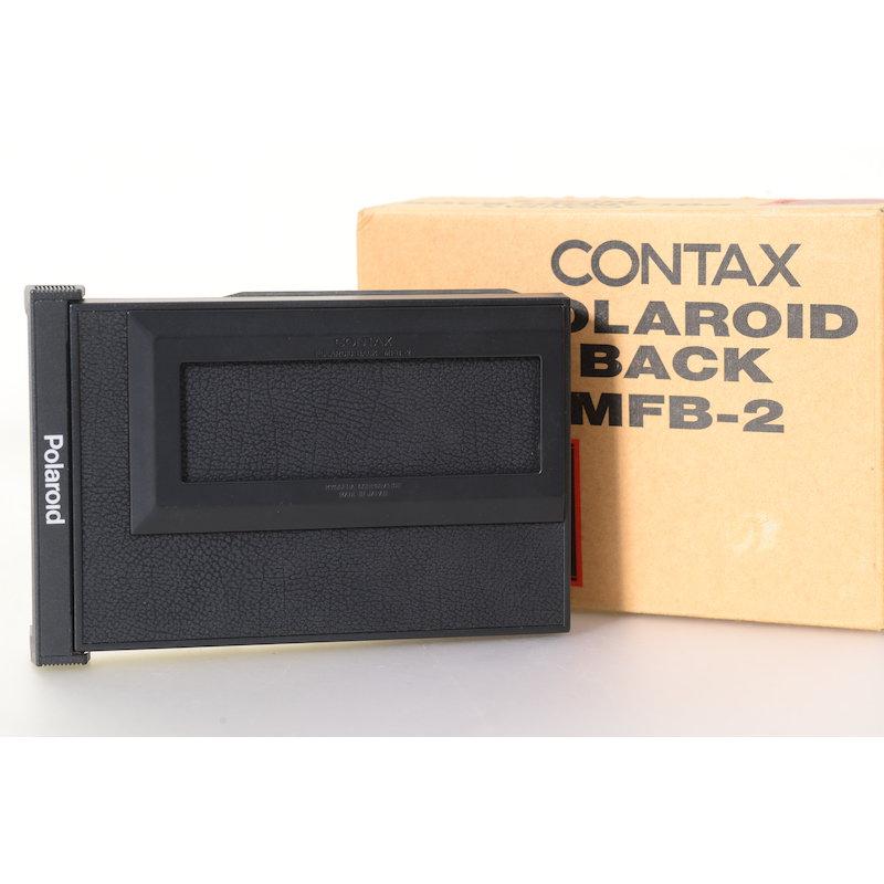 Contax Polaroidmagazin MFB-2 645