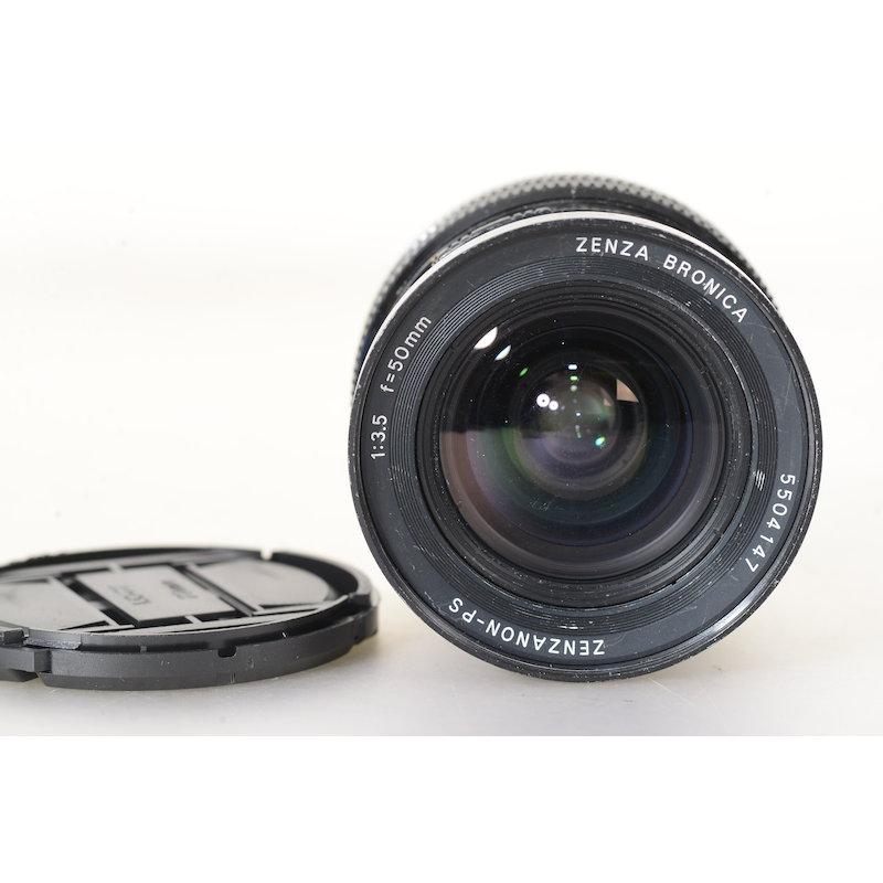Bronica Zenzanon PS 3,5/50 SQ-Ai (Putzspuren Frontlinse)