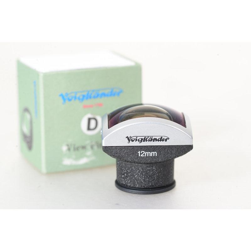 Voigtländer Optischer Sucher Metall D 12mm