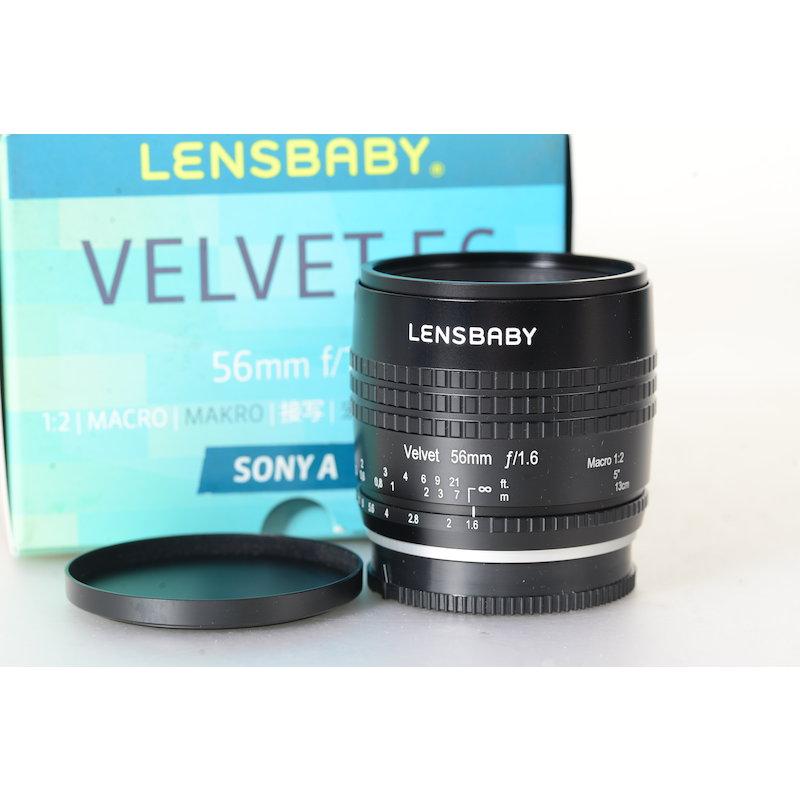 Lensbaby Velvet 1,6/56 Makro Black Sony Alpha #LBV-56BS