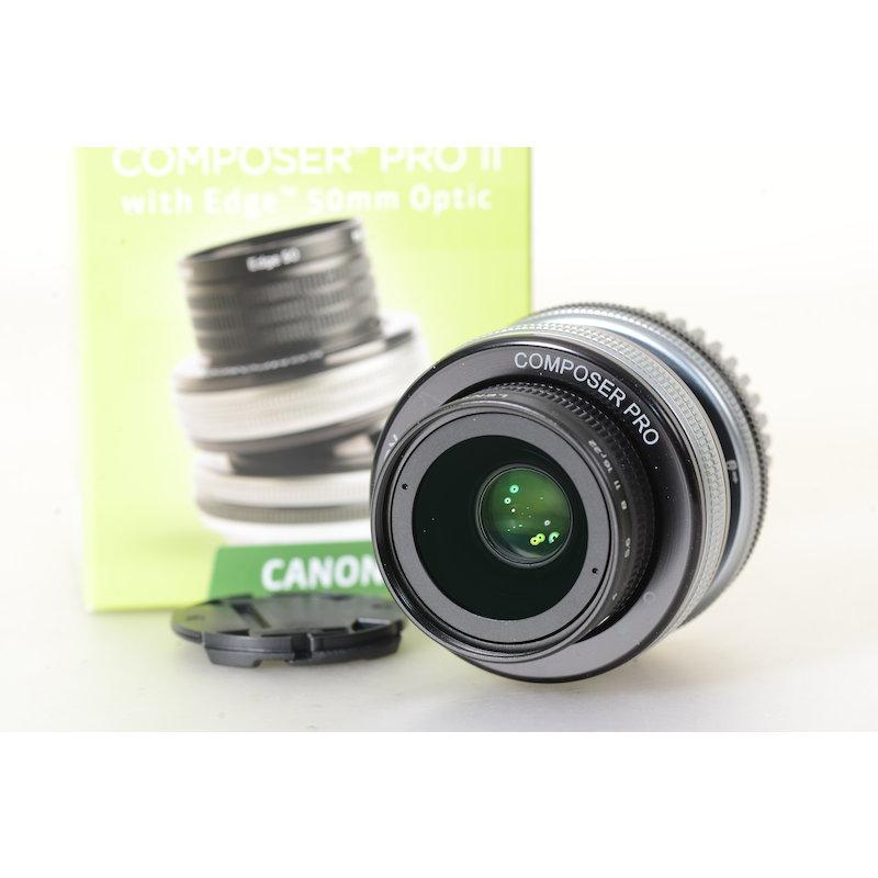 Lensbaby Composer Pro II mit Edge 50 Optic Canon EF - LBCP2E50C