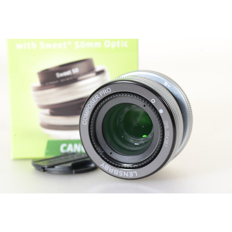 Lensbaby Composer Pro II mit Sweet 50 Optic Canon EF - LBCP250C
