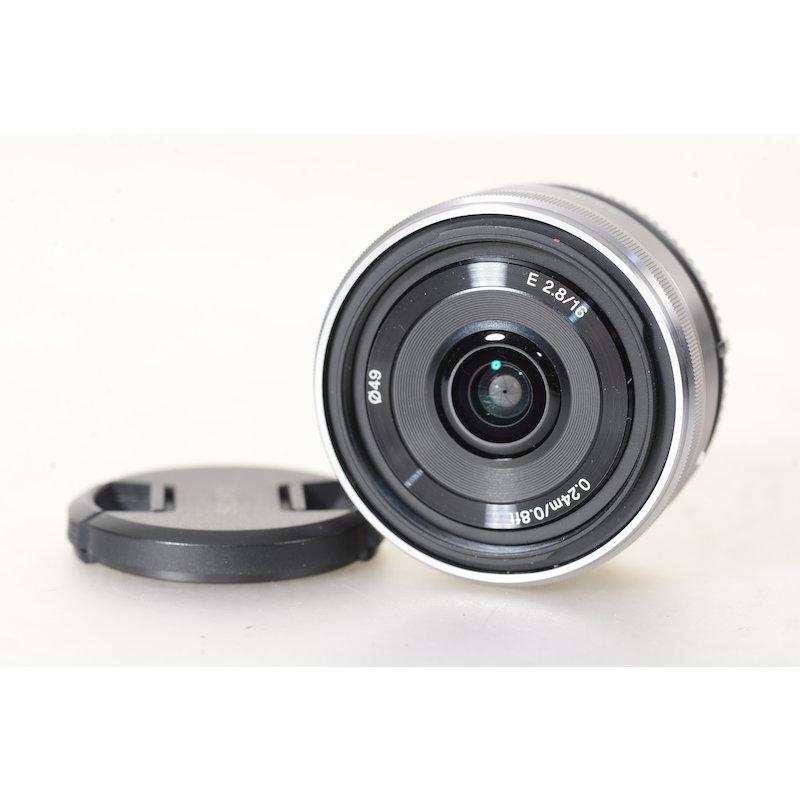 Sony E 2,8/16 Pancake E-Mount #SEL16F28