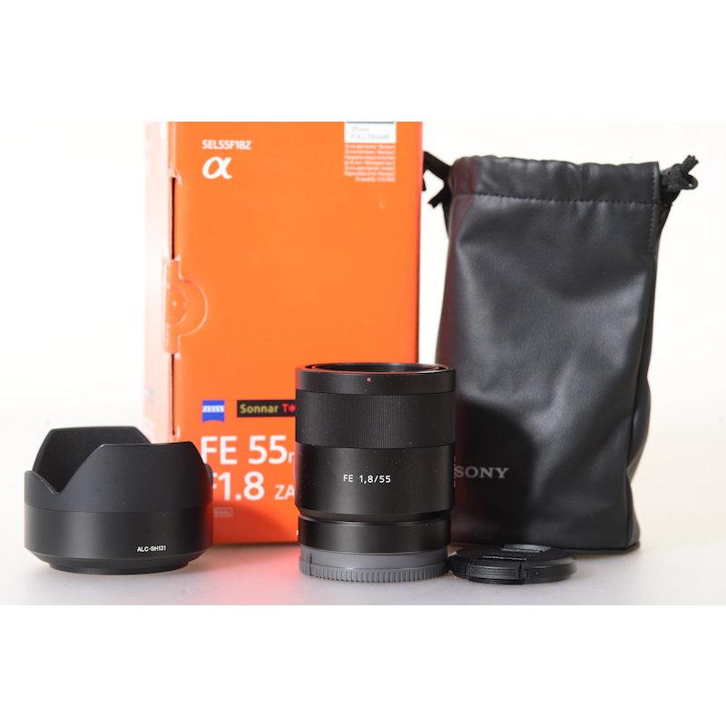 Sony Sonnar FE 1,8/55 ZA E-Mount #SEL55F18Z