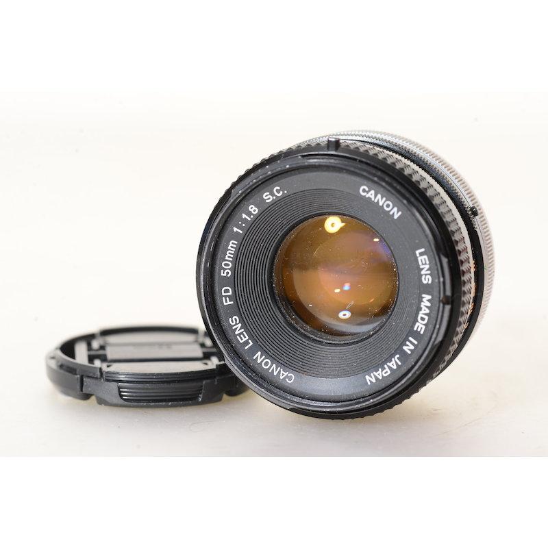 Canon FD 1,8/50 S.C.