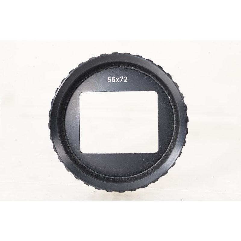 Linhof Maske 56x72 f. Universalsucher 6,5x9 Schwarz