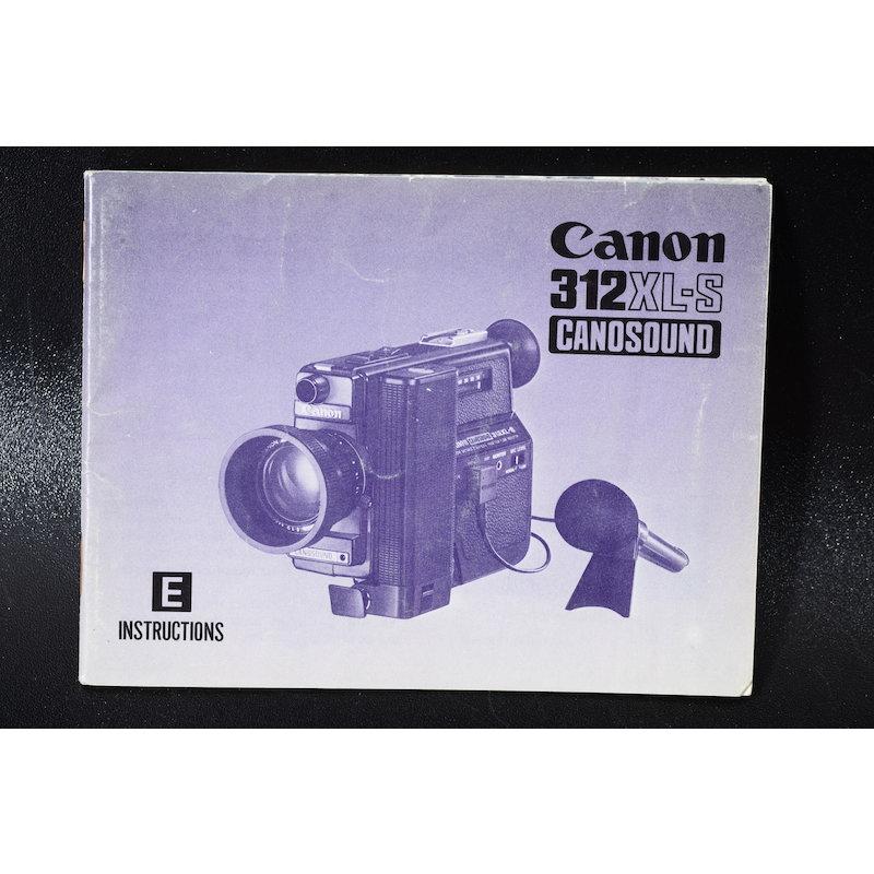 Canon Anleitung Canosound 312XL-S (Englisch)