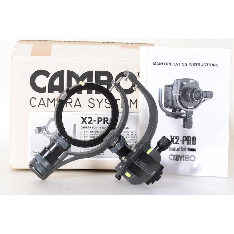 Cambo Pro View Camera Body #X2Pro