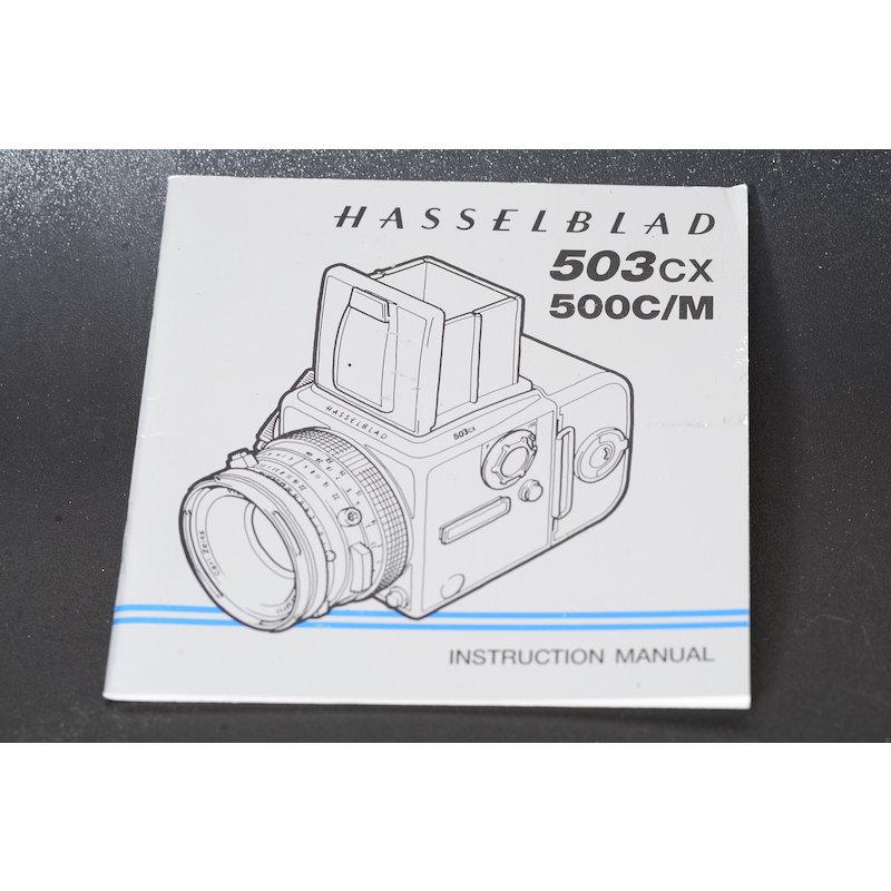 Hasselblad Anleitung 503CX+500C/M (Englisch)
